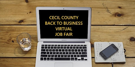 Cecil County Back to Business Virtual Job Fair tickets