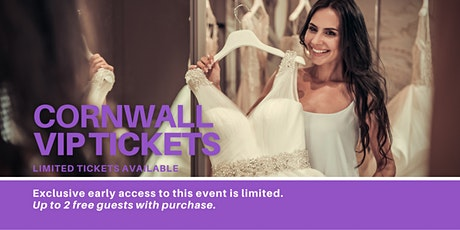 Cornwall Pop Up Wedding Dress Sale VIP Early Access tickets