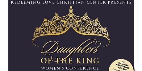 """""""Daughters of the King"""" Womens Conference tickets"""