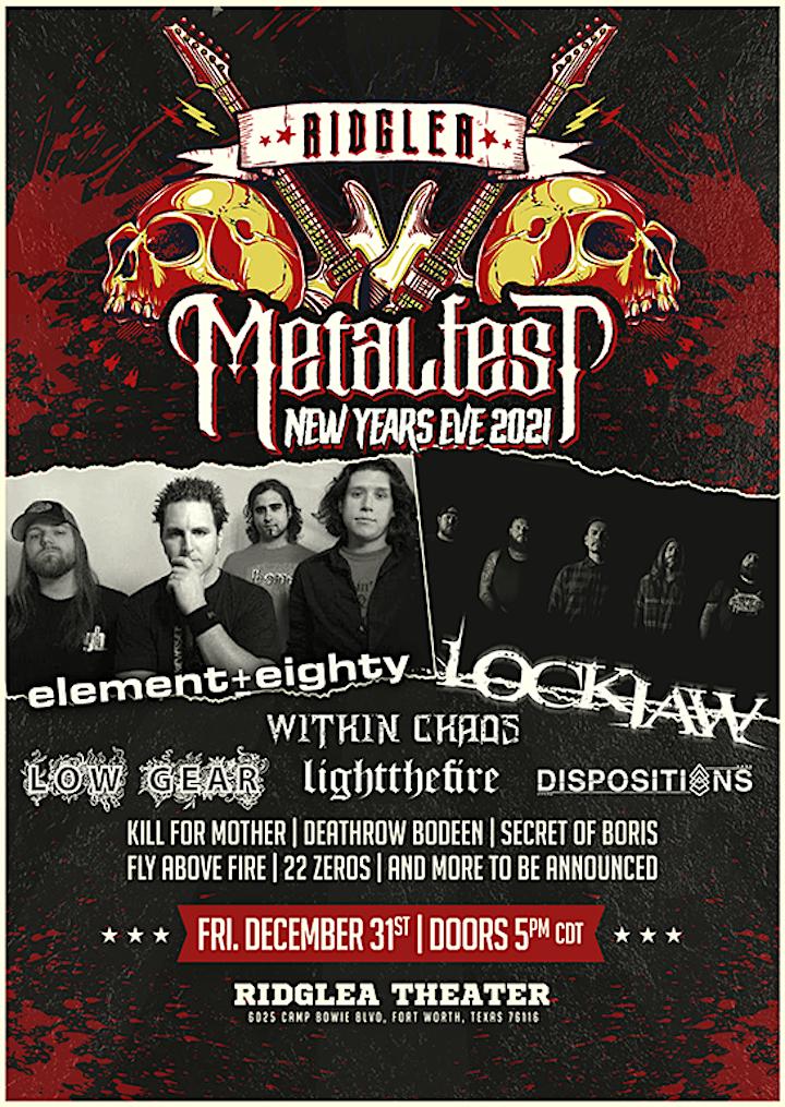 Ridglea Metalfest Presents: Element Eighty, Lockjaw, Within Chaos image