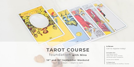 "Tarot Course ""Foundation"" tickets"