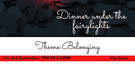 Dinner under the fairylights: Online  cooking event tickets