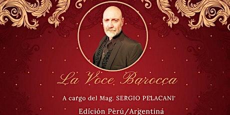 La Voce Barocca-Perú boletos