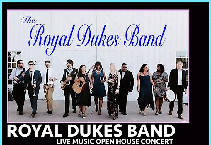 ROYAL DUKES BAND -FREE  LIVE CONCERT Open House image