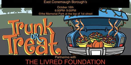 East Conemaugh Borough's TrunkorTreat Partnering with The LivRed Foundation tickets