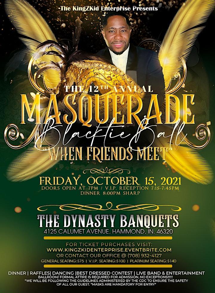 KingZKidEnterprise 12th Annual Masquerade BlackTie Ball image