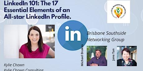 LinkedIn 101: Elements of an All-star LinkedIn Profile - Mt Gravatt Network tickets