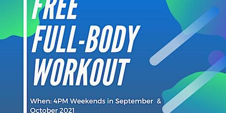 Free Full Body Workout using Calisthenics - EMGSS RSBO tickets