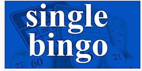 KENSINGTON-SINGLE BINGO TUESDAY OCTOBER  5, 2021 tickets
