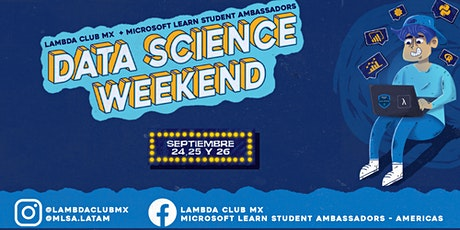 DATA SCIENCE WEEKEND ingressos