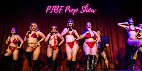 PEEP SHOW - Perth International Burlesque Festival tickets