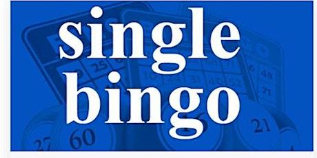 KENSINGTON SINGLE BINGO WEDNESDAY DECEMBER  1, 2021 tickets
