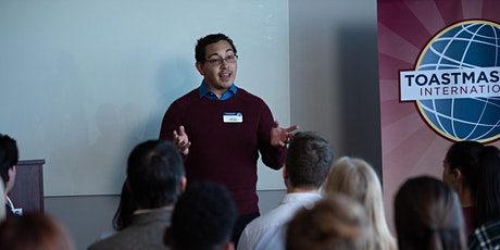 Develop Your Public Speaking and Leadership Skills with Toastmasters tickets