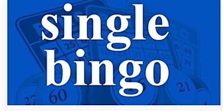 KENSINGTON SINGLE BINGO WEDNESDAY DECEMBER  8, 2021 tickets