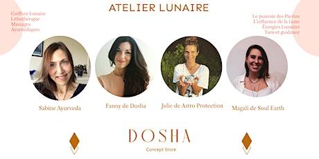 Atelier Lunaire de Dosha - Octobre billets