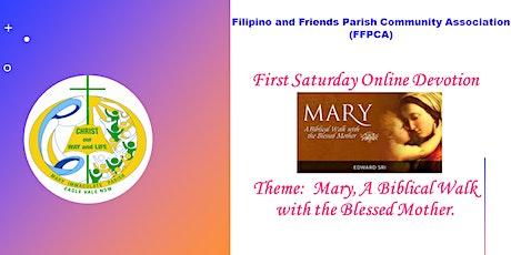 First Saturday Online Devotion tickets