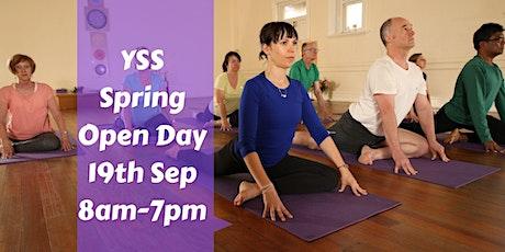 Yoga Spirit Studios-SPRING OPEN DAY tickets