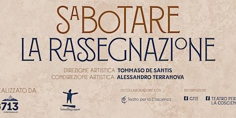 1° Festival di Microteatro - 18 settembre, Fascia A biglietti