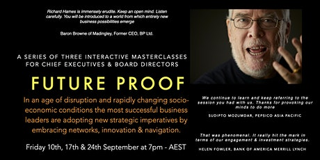 FUTURE PROOF - Three Interactive Masterclasses for Business Leaders tickets