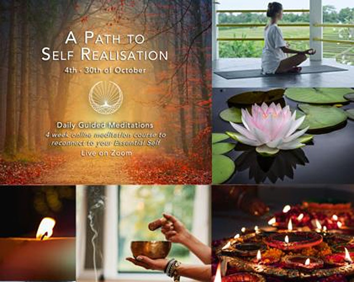 Online Meditation Course 'A Path To Self Realisation' image