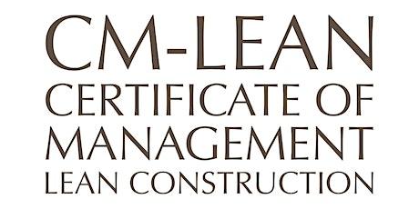 LEAN CONSTRUCTION - Units 1 to 7 (Members QAR4,000/ Nonmembers QAR5,000) tickets