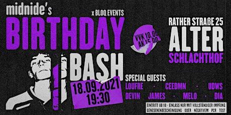 midnide's BIRTHDAY BASH w/ FRIENDS tickets