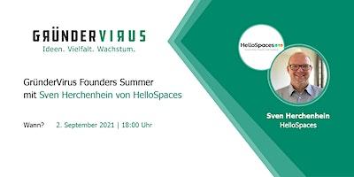 GründerVirus Founders Summer: HelloSpaces