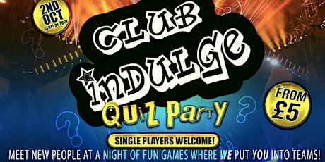 Body Positive Party Quiz Night! tickets
