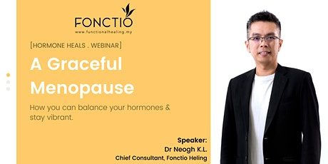 A graceful menopause - How you can balance your hormones & stay vibrant tickets