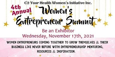 EXHIBITOR - Women Entrepreneur Summit 2021  #WESummitSB tickets