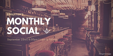 September Monthly Social  @ Liberty Tavern tickets