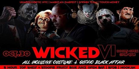 DJ SELF LIVE | WICKED VI I 5 Hr Open Bar| Unapologetic Halloween | tickets