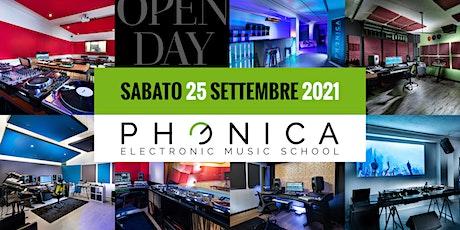 Open Day 2021 biglietti