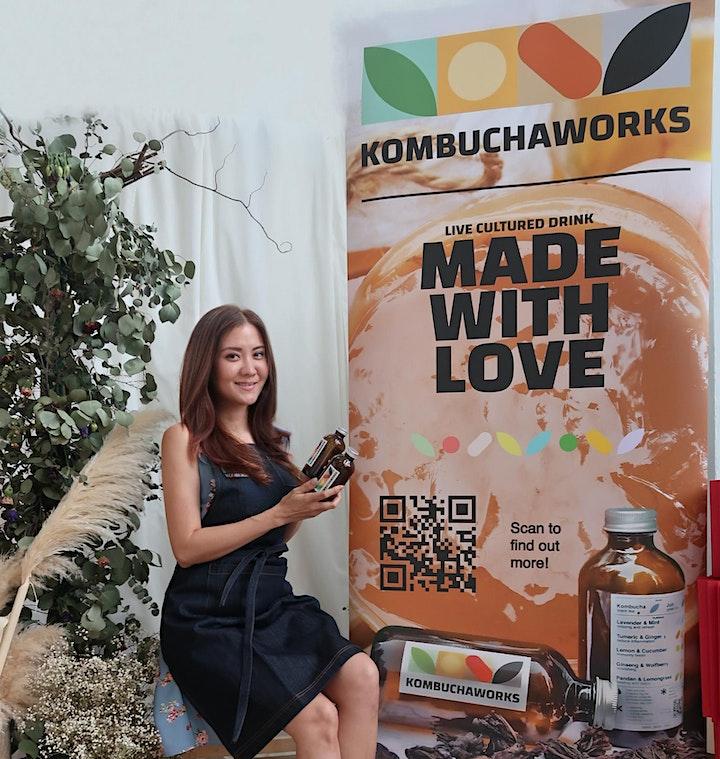 Kombucha Brewing and Kimchi Workshop - Learn to Brew Your Own Kombucha image