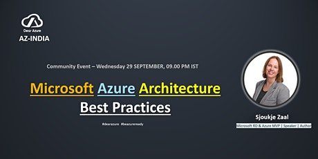 Microsoft Azure Architecture Best Practices tickets