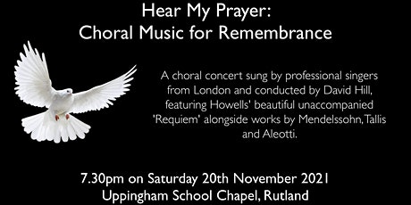 Hear my Prayer: Choral Music for Remembrance tickets