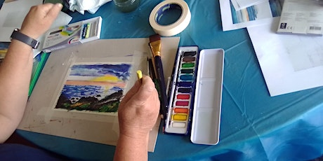 12 Week Art Classes - Painting (Acrylic & Watercolours) & Other Subjects tickets