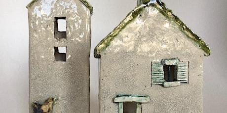 Keramiek - werken met vierkante vormen tickets