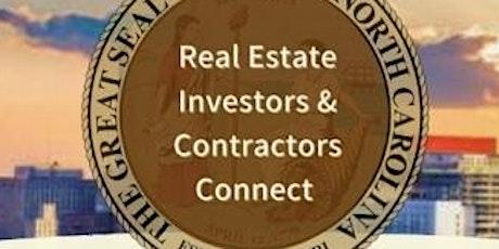 NC Real Estate Investors & Contractors Connect tickets