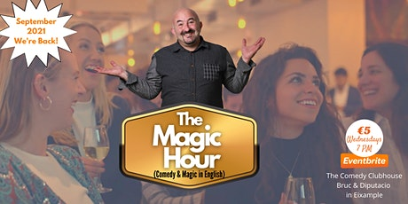 The Magic Hour -  Comedy Magic Show (in English) by FunnyBaldGuy tickets