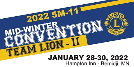 2022 5M11 MID-WINTER CONVENTION, TEAM LION II tickets