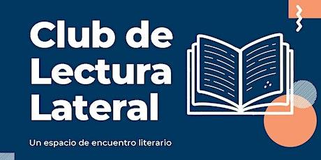 CLUB DE LECTURA LATERAL de SEPTIEMBRE boletos