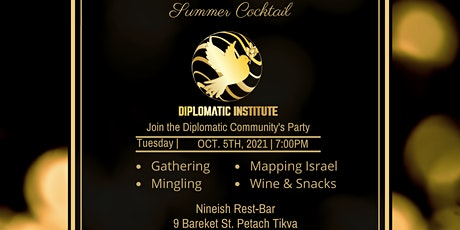Diplomatic Institute Summer Cocktail tickets