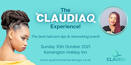 The ClaudiaQ Experience tickets