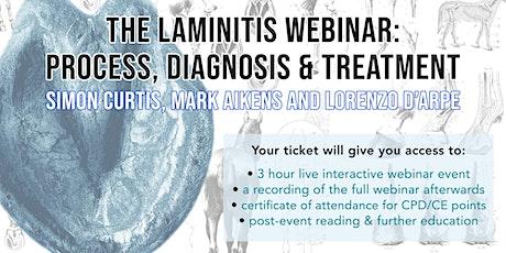 Laminitis Webinar - Dr Simon Curtis with Lorenzo D'Arpe & Mark Aikens Tickets