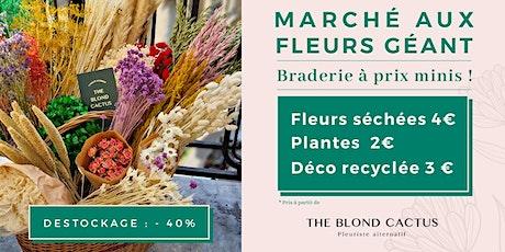 Grande vente de fleurs séchées LILLE #1 billets
