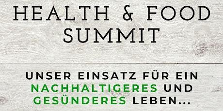 4. Health & Food Summit Tickets