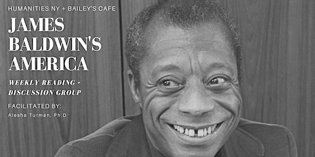 James Baldwin's America: Reading + Discussion Group tickets