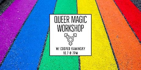 Queer Magic Workshop tickets