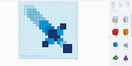 Tinkercad: modellazione 3D [riservato a Scuole] biglietti